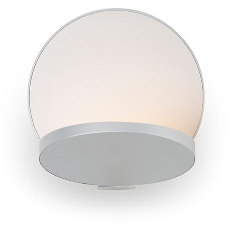 """Koncept Gravy 5"""" High Silver LED Wall Sconce"""