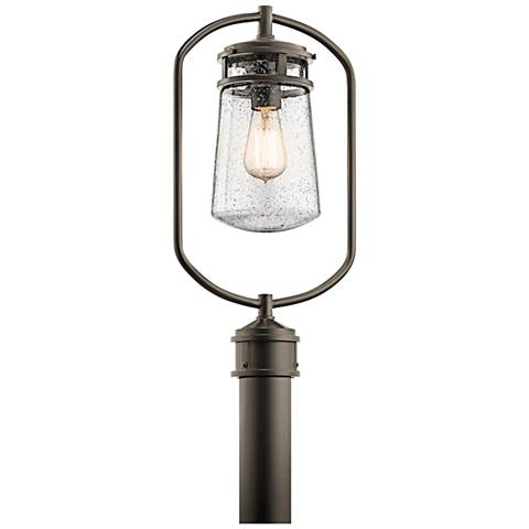 "Kichler Lyndon 20""H Olde Bronze Small Outdoor Post Light"
