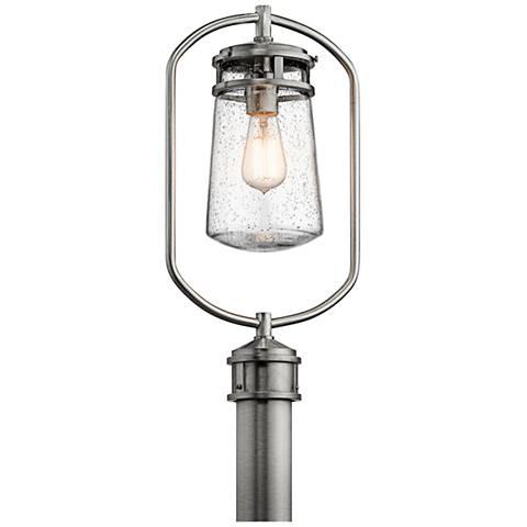 "Kichler Lyndon 20""H Brushed Aluminum Outdoor Post Light"