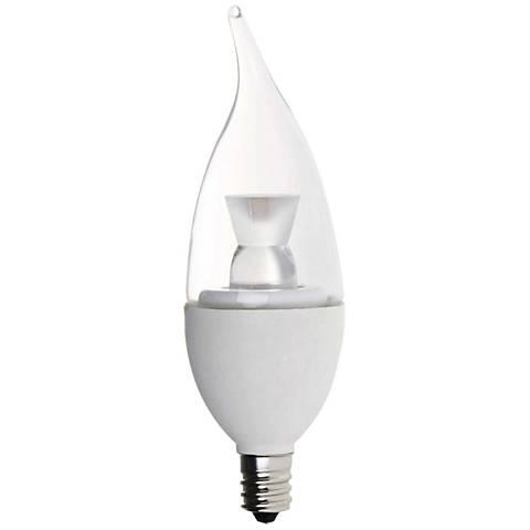 40 Watt Equivalent Clear 5 Watt LED Dimmable Candelabra Bulb