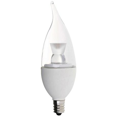 Bioluz Flame LED 5 Watt 350 LM E12 Filament Candelabra Bulb