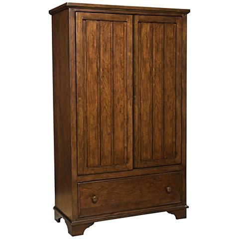 Dawson's Ridge Heirloom Cherry 2-Door Bookcase Locker