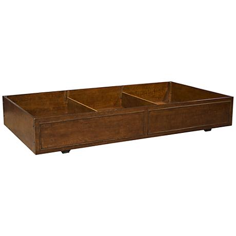 Dawson's Ridge Heirloom Cherry Castered Storage Trundle
