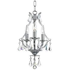 mini chandeliers  luxe looks for the bedroom, bathrooms, closet, Lighting ideas