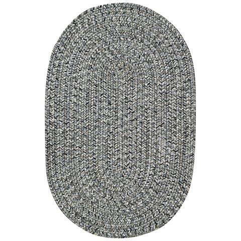 Sea Pottery 0110VS300 Oval Smoke Outdoor Area Rug