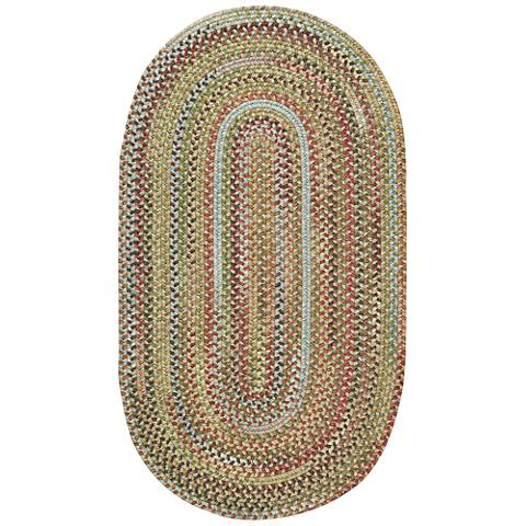Kill Devil Hill 0210VS910 Oval Dusty Multi Area Rug