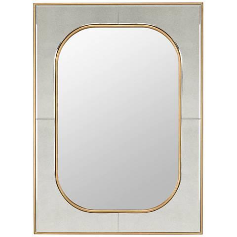 "Cooper Classics Lucca Gold 27 1/2"" x 37 1/2"" Mirror"