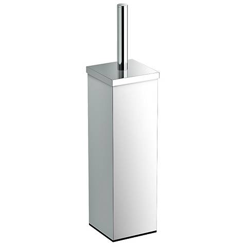 "Gatco Elegant Chrome 14 3/4"" High Toilet Brush Holder"