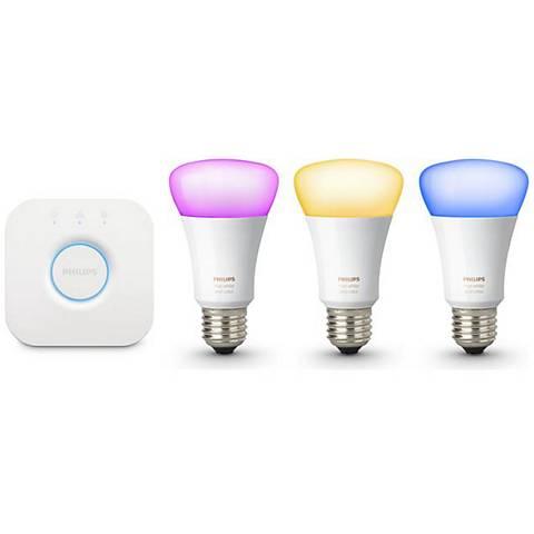 Phillips Hue Multi-Function Wireless Lighting Starter Kit