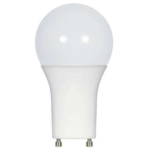 60W Equivalent Satco Frosted 10.5W LED Dimmable GU24 Bulb