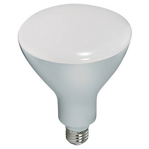 85W Equivalent Satco 16.5W LED Dimmable Standard BR40 Bulb
