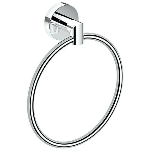 "Gatco Glam Chrome 7 1/2"" High Towel Ring"