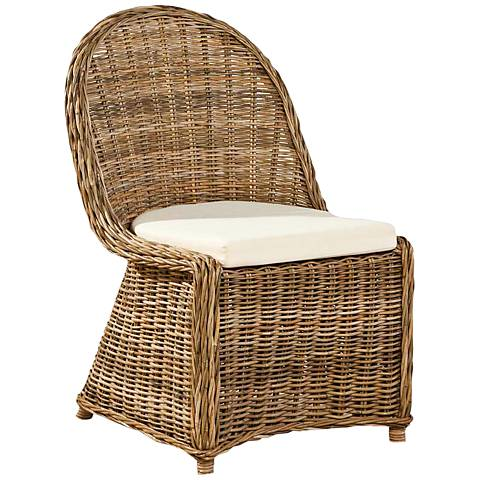Biscayne Natural Kubu Side Chair