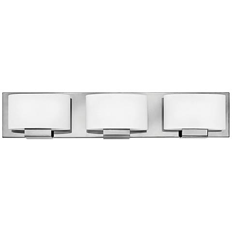 "Hinkley Mila 24"" Wide Chrome 3-Light Bath Light"