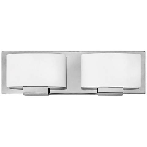 "Hinkley Mila 5"" High 2-Light Chrome LED Wall Sconce"