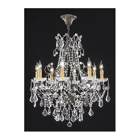 "James R. Moder 28"" Wide Charleston Collection Chandelier"