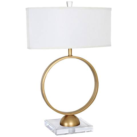 Van Teal Carmel Gold Table Lamp