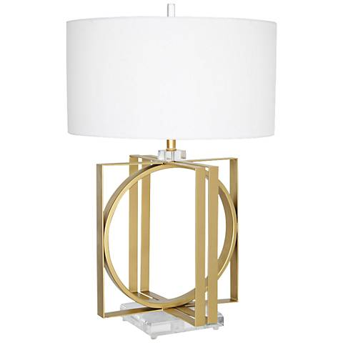 Van Teal Frisco Gold Table Lamp
