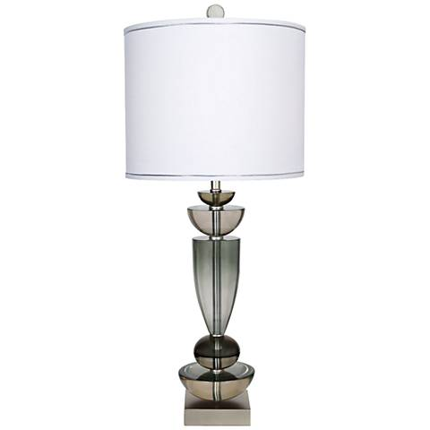 Van Teal Stride by Me Silver Jacobean Table Lamp
