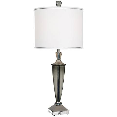 Van Teal Sola Mia Silver Jacobean Table Lamp