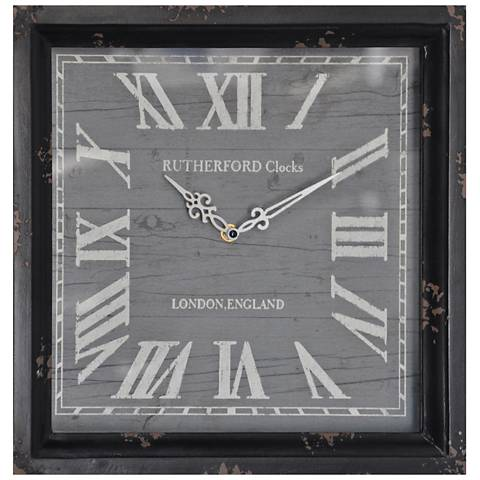 "Crestview Collection Time Lapse I 14"" Square Wall Clock"