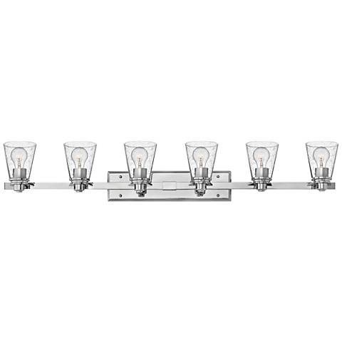"Hinkley Avon 48"" Wide 6-Light Chrome Bath Light"