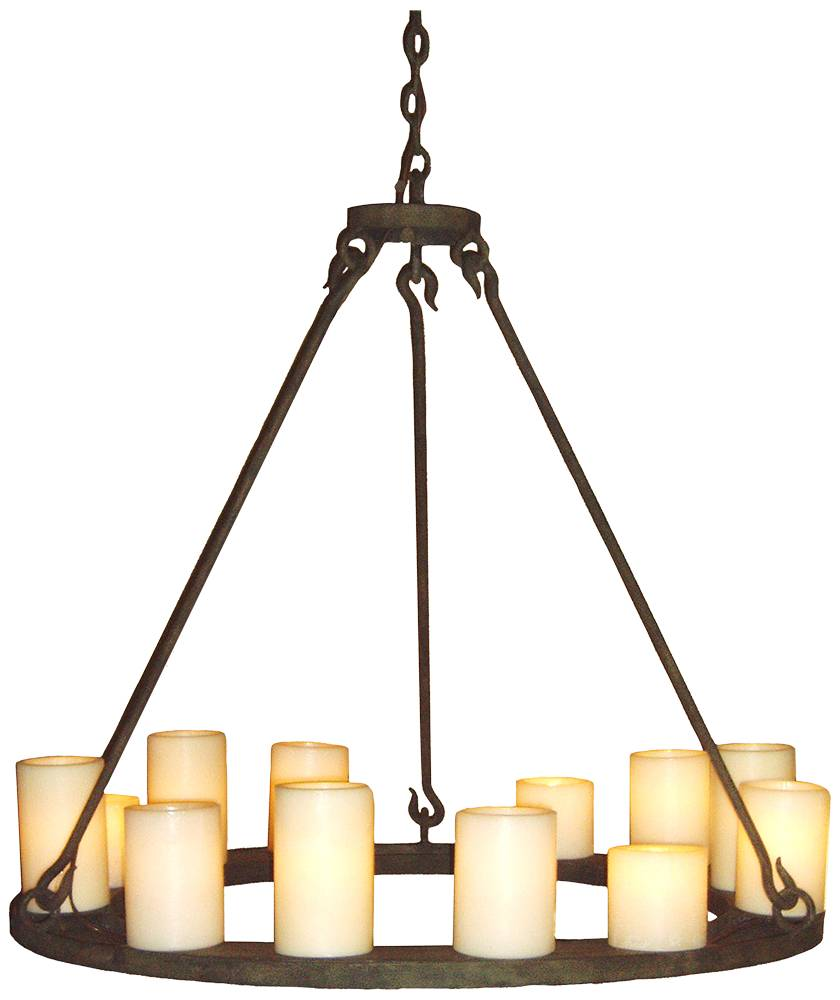 Franklin Iron Works Country Cottage Chandeliers