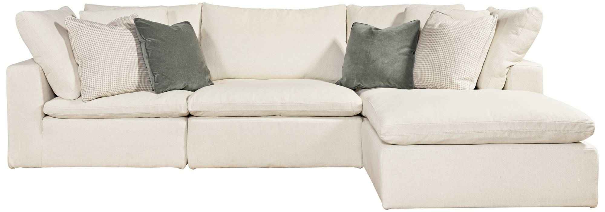 Skye Classic Natural 5 Piece Modular Sectional 1y166
