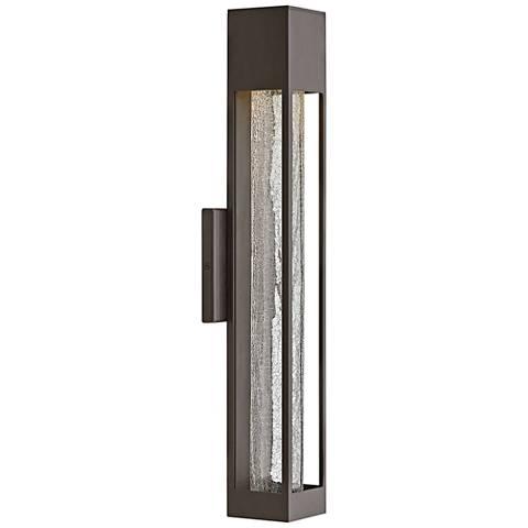 "Hinkley Vapor 21"" High Bronze Outdoor Wall Light"