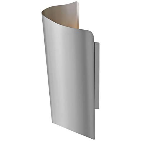 "Hinkley Surf 24"" High Titanium LED Outdoor Wall Light"