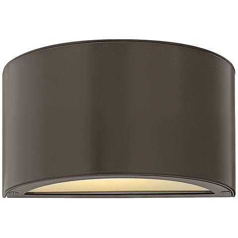 "Hinkley Luna 5"" High Bronze 2-LED Outdoor Wall Light"