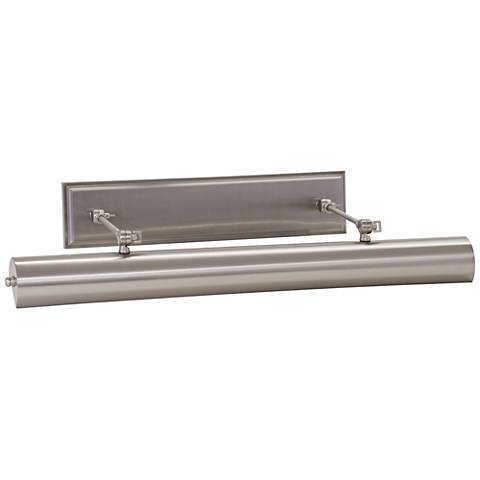 """Oxford 30"""" Wide Satin Nickel Direct Wire LED Picture Light"""