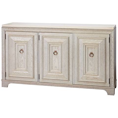 California Malibu 2-Drawer 3-Door Wood Credenza