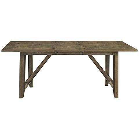 Chelsea Brownstone Wood Extension Kitchen Table
