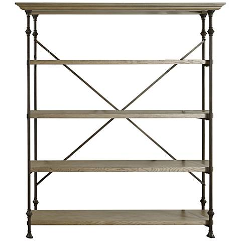 Great Brownstone Wood 4-Shelf Room Rack