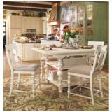 Paula Deen Home Linen Wood Kitchen Gathering Table