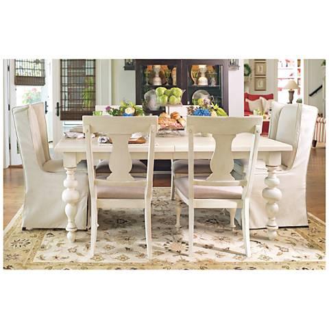 Paula Deen Home Linen Wood Extension Dining Table
