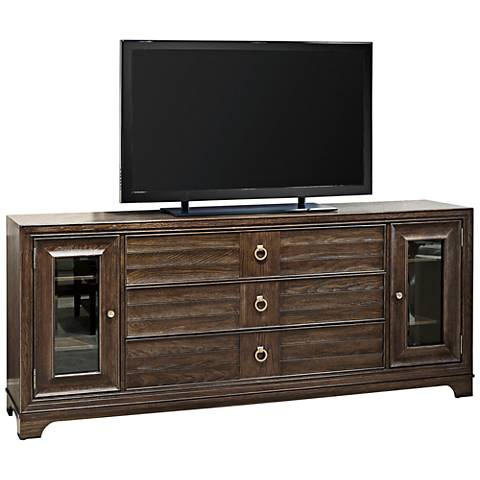 California Hollywood Hills 2-Door Wood Entertainment Console