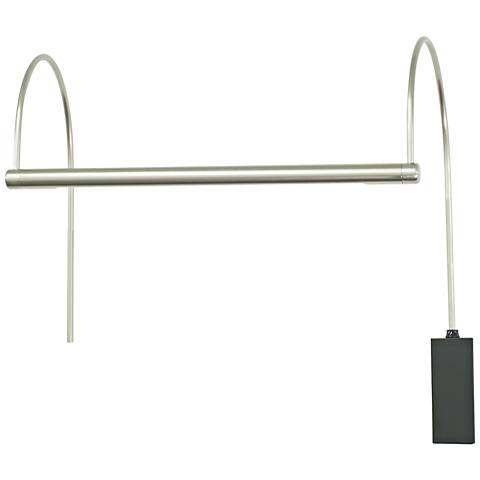 "House of Troy Ultra Slim-Line 15""W Nickel LED Picture Light"