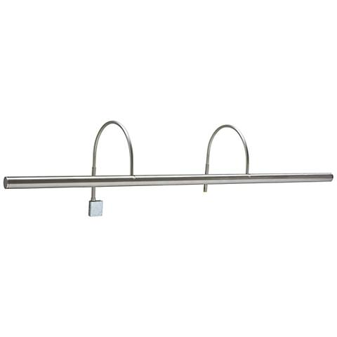 "House of Troy Slim-Line XL 36""W Satin Nickel Picture Light"