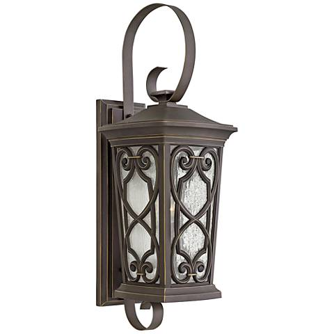 "Hinkley Enzo 28 1/2""H Oil Rubbed Bronze Outdoor Wall Light"