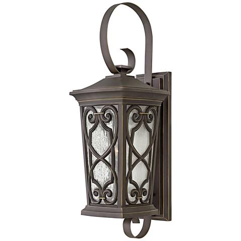 """Enzo 28 1/2"""" High Oil Rubbed Bronze LED Outdoor Wall Light"""