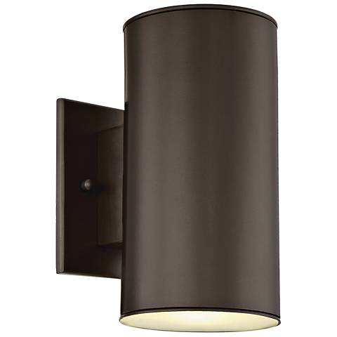 "Barrow 8 3/4"" High Oil Rubbed Bronze LED Outdoor Wall Light"