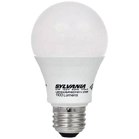 75W Equivalent Sylvania 12W LED Non-Dimmable Standard