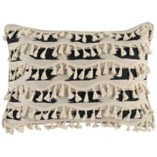 "Roset Wool and Onyx 20"" x 14"" Decorative Pillow"