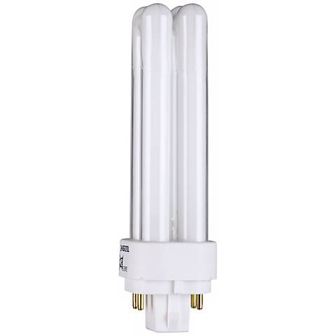 Four - Pin Quad 13-Watt Compact Fluorescent Light Bulb