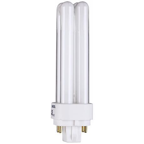 Four - Pin Quad 13-Watt Compact Fluorescent Light Bulb