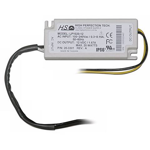TSM Orion 20 Watt Wall Hard Wire LED Driver
