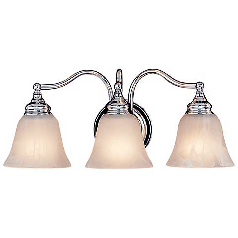 "Feiss Bristol Collection 18""-W Chrome 3-Light Bath Fixture"