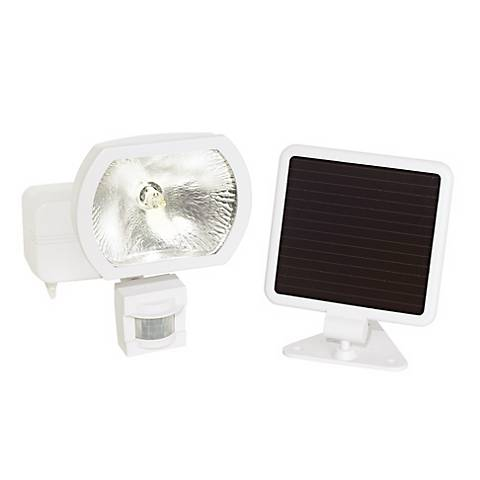 Solar Power Security Motion Detector Outdoor Light 22833 Lamps Plus
